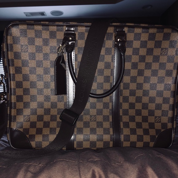 Louis Vuitton Damier Ebene Porte-Documents Voyage